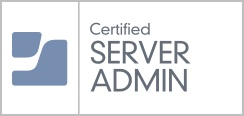 Certified Server Admin Badge